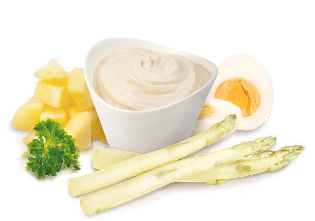 Pommes de terre et asperges blanches